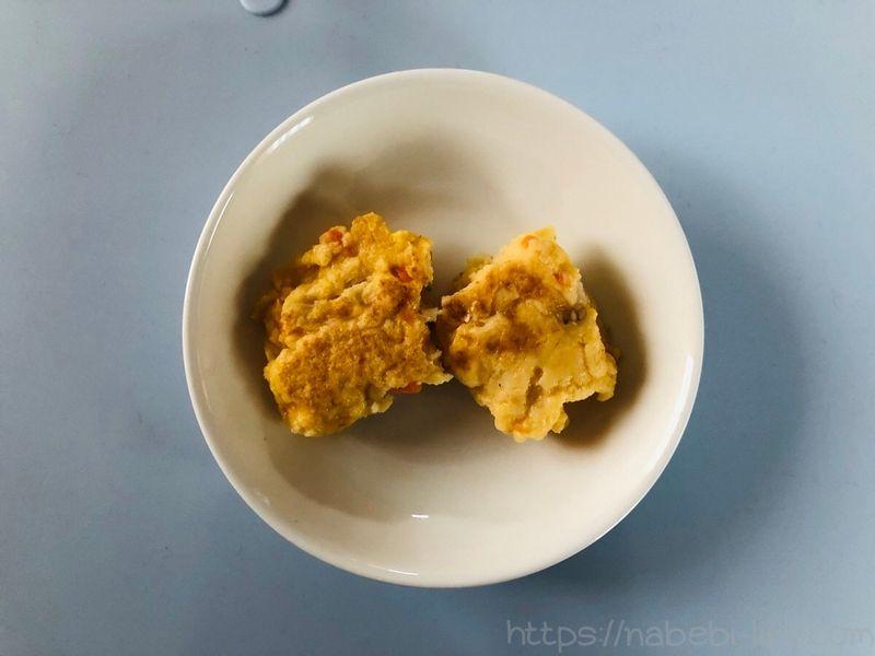 野菜と豆腐のミニハンバーグ